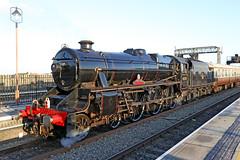 45305 LMS Stanier Class 5 (1937) (Roger Wasley) Tags: 45305 lms stanier class 5 460 railway steam locomotive engine heritage polarexpress station birmingham moorstreet