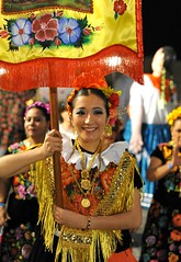 Oaxaca Mexico Tehuana Procession Woman (Ilhuicamina) Tags: mujer woman tehuana procession celebrations mexican oaxacan