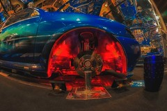 color tuning (try...error) Tags: red blue rot blau front light ford car classic sony 5n fisheye emount