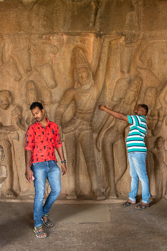 Arjuna's Penance. Mahabalipuram