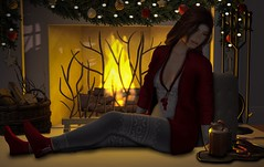 Chocolate is cheaper than therapy, and you don't need an appointment. (Aleriah.) Tags: aria ariskea christmas deaddollz halfdeer hotchocolate merak nutmeg secondlife ski sl theepiphany truth virtualfashion virtualgirls whatnext winter diversion