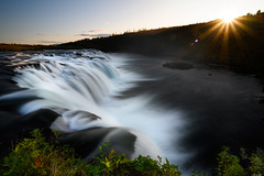 Last sunlight (Rico the noob) Tags: dof z6 landscape sunset nature water outdoor hills clouds iceland waterfall travel longexposure published sky sun 1430mm 2019 river 1430mmf4s