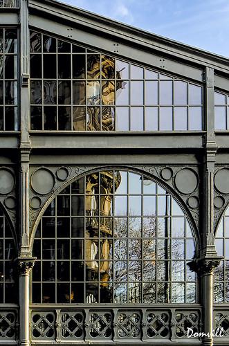 Le Carreau du Temple - reflet Haussmannien