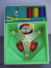 Vintage 1965 Ideal Tip-It Game The Wackiest Balancing Game Ever (beetle2001cybergreen) Tags: vintage 1965 ideal tipit game the wackiest balancing ever