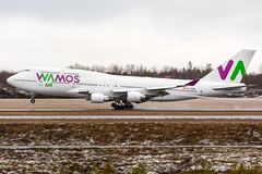 EC-KSM Boeing 747-412 Wamos Air (Andreas Eriksson - VstPic) Tags: ecksm boeing 747412 wamos air viking 1729 from tenerife tfs