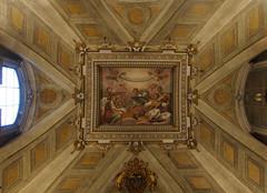 Basilica Santa Maria Maggiore a Roma - Navata laterale (Darea62) Tags: church art architecture rome unesco angels drawing ceiling religion catholic sonyalpha77