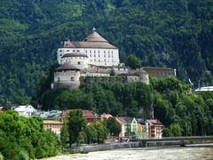 Kufstein Fortress (Jurek.P2 - new account) Tags: kufstein austria tyrol fortress twierdza zabytek architecture history building river inn rzeka city cityscape europe europa jurekp2