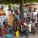 At the Gwari settlement - family snapshot