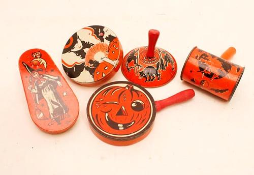 1950's Halloween noise makers ($89.60)