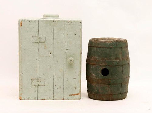 Small Wooden Keg -pictured right- ($100.80)