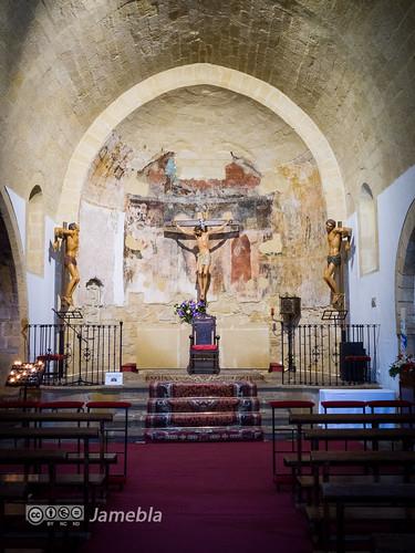 Altar de la iglesia de la Santa Cruz - Baeza.jpg