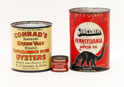 Conrad's Oyster Tin Mollusk, VA ($168.00)