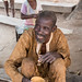 At the Gwari settlement - a drink and a smile