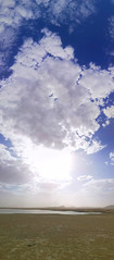 Cloudy (Abdullah Taher) Tags: white winter water egypt egyptian sea travel trip sky day sun image photo photograph phone panorama africa shot sand desert hiking lake life landscape clouds cloud coloring bright blue beach nature ngc mobile mountainside mount cloudy