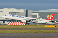 TC-LSG Turkish Airlines Airbus A321Neo EGCC 3/12/19 (David K- IOM Pics) Tags: egcc man manchester ringway airport 23r tc tclsg airbus a321 a321neo a21n thy tk turkish airlines