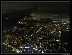 Approche de Paris Orly en A320 (cquintin) Tags: paris orly approach approche lfpo night lights