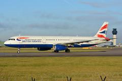 G-EUXG British Airways Airbus A321 EGCC 3/12/19 (David K- IOM Pics) Tags: egcc man manchester ringway airport 23l ba baw british airways speedbird shuttle sht airbus a321 geuxg