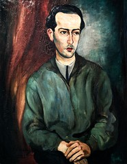 Brother's Portrait (1921) - Sarah Affonso (1899-1983) (pedrosimoes7) Tags: sarahaffonso portrait portuguesepeople portraiture portraitphotographylovers retrato ritratto museunacionaldeartecontemporânea mnac museudochiado lisbon portugal