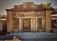 a night at the opera...(HWW) (BillsExplorations) Tags: windowwednesday weathered old historical vintage operahouse saloon ghosttown newmexico rustic hww door window pinosaltos