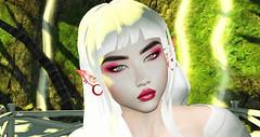 Geisha ⚜️ (Sydney Levee) Tags: grime makeup girl geisha woman femme letre lamb jian mandala blueberry arte glamaffair