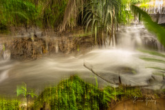 Impressionism - waterfall 1 (Enio Godoy - www.picturecumlux.com.br) Tags: bluespring sonyalpha abstractart water abstract abstraction sony sony03 viveza2886323633163 niksoftware longexposure abstractrealism waterfall river bonitoms alpha6300 abstractfigurative sonyalpha6300 impressionism