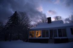 DSC_8375 (S M P H O T O) Tags: christmas merrychristmas colebrook connecticut dusk