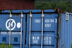 INBU Container (SGL 313/The Muck) (stinkenroboter) Tags: stategamelands313 themuck shippingcontainer