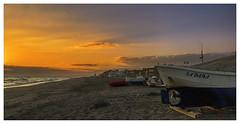 La Dama (bit ramone) Tags: almería andalucia andalusia mar meditérrraneo sea boats barcos bitramone atardecer sunset