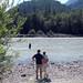 Ewa, Ula, Marek visit.. eagles, mountains, river, food..