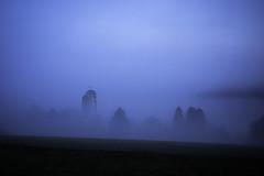 Misty Morning (Deepmike70) Tags: landscape mist fog foggy church tree sky morning dark dawn