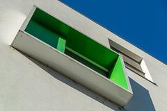 The green window (jefvandenhoute) Tags: belgium belgië brussels brussel light wall windows green