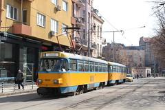 Elektrotransport Sofia, 4030 + 4772 (Chris GBNL) Tags: metropolitanelectrictransportsofia столиченелектротранспорт tram 4030 4772 tatrat4
