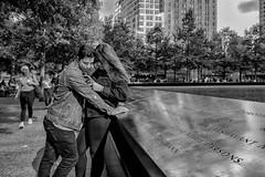 Manhattan, 2018 (Alan Barr) Tags: newyork newyorkcity 911 nyc ny 2018 street sp streetphotography streetphoto blackandwhite bw blackwhite mono monochrome candid city people panasonic gx85