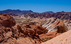 magnificent view of the colorful desert (kleiner_eisbaer_75) Tags: desert wüste valley fire state park nevada felsen felsformationen farben colors reise travel natur nature aussicht viewpoint ngc