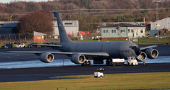63-8884 (PrestwickAirportPhotography) Tags: egpk prestwick airport usaf united states air force boeing kc135r stratotanker 638884 macdill mobility command