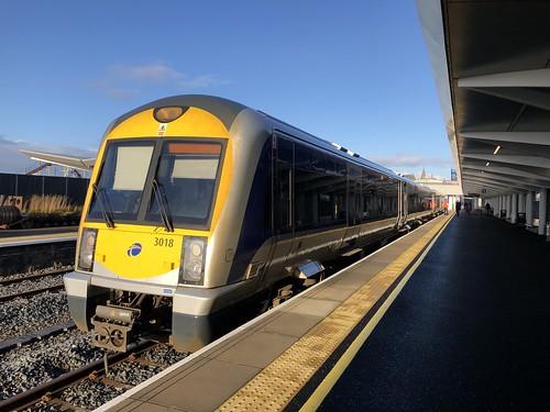 3018 at Portrush Railway Station