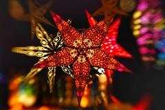 Auf dem Weihnachtsmarkt (VintageLensLover) Tags: weihnachten weihnachtsstern stern licht lichter bokeh schärfeverlauf schärfentiefe lensbaby sweet50 kreativ sonya7iii 50mm