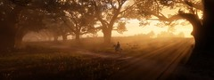 ''The Path Before Us'' (HodgeDogs) Tags: textures tree trees sun people games gaming inexplore explore openworld horse photography larahjohnson fransbouma reddeadredemption2 rockstargames