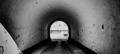 The tunnel (Missing Pictures) Tags: people atmospheric atmosphere street explored explore city traveling travel helsinki finland white blackandwhite black monochrome tunnel