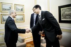Rui Rio recebeu o Embaixador da República Federal da Alemanha