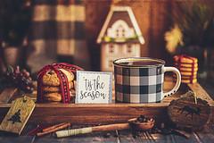 Make it a December to remember (Chapter2 Studio) Tags: stilllife sonya7ii soft chapter2studio calm coffee classic cookies cinnamon moody mood mug spoon christmas holiday happiness handmade