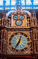 Clock Durham Cathedral (red.richard) Tags: durham cathedral clock england uk nikon d800