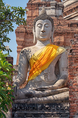 Wat Yai Chai Mongkon (Tofubratwurst) Tags: ayutthaya watyaichaimongkon tofubratwurst thailand phranakhonsiayutthaya พระนครศรีอยุธยา ประเทศไทย buddha buddhism buddhismus sonyalpha7rm2 sonyselfe85mmf18 sonyilce7rm2 85mm asia asien reiselust thailandphoto thailandreise statue travelphoto travelphotography
