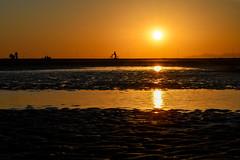 silhouette at the beach (sheryio1) Tags: silhouette nikond7200 nikon nikkor 50mm f18g sunset beach desktop background