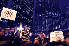 All I Want for Christmas is Democracy (kirstiecat) Tags: democracy trumptower chicago protest citizen voters resistfascism resist thisiswhatdemocracylookslike impeachtrump lockhimup impeachmas merryimpeachmas signs politics liberal america us unitedstates people contientious moscowmitch
