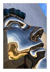 Tête (Jean-Louis DUMAS) Tags: bordeaux architecture art architecte architect architectural architecturale artistic abstract abstrait square artistique artist artiste arts statue aquitaine nouvelleaquitaine reflets reflection abstraction