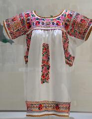 Embroidered Blouse Oaxaca Mexico (Teyacapan) Tags: blusas blouses embroidery mexican oaxacan textiles sanantonino museum