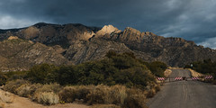 (el zopilote) Tags: panorama newmexico architecture landscape lumix cityscape pano sandiamountains cibolanationalforest g9 leicavarioelmarit1260mmf284asph 500