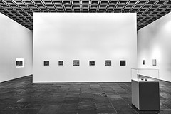 museum (albyn.davis) Tags: blackandwhite museum nyc newyorkcity met walls exhibit exhibition photography art angles geometry city urban contrast usa