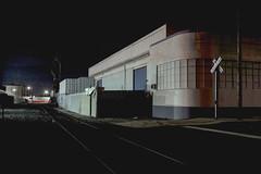 Crossing (ADMurr) Tags: la eastside factory tracks rr x leica m240 35mm zeiss zm tripod m0005162 night